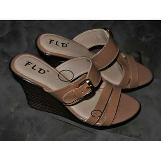 Fladeo Brown Heels 38