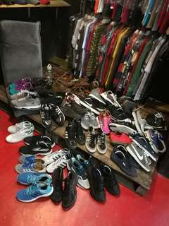 New stock used shoes available for walk in our store