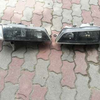 Honda SV4 Headlights with corner lamp