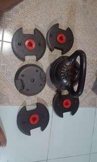 Core modular kettlebell
