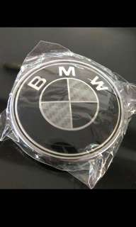 BMW 82mm Carbon Fiber Emblem