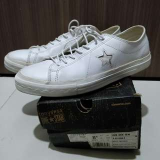 Converse One Star DS OX - Leather White