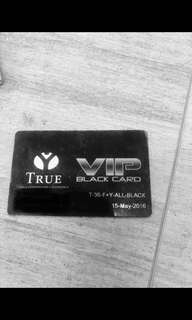 True Fitness VIP Membership Black Card (Access to Gym and Yoga)