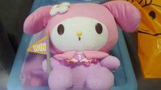 Hello Kitty Go Around Singapore - My Melody Baby Win Plushie (Brand New)