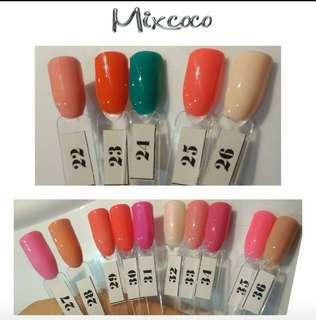 Mixcoco Gel Polish no.22-36