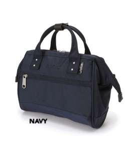 💯 [AT-H1371] ANELLO BOSTON 2-WAY MINI SLING BAG -NAVY