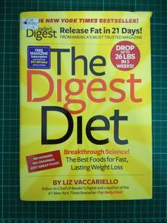 The digest diet - lose fat in 21 days (hard cover)