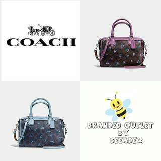 COACH BANNET SIGNATURE CRANCH FLOWER ( F59461 )