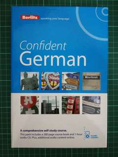 German learning book with CD - Confident German