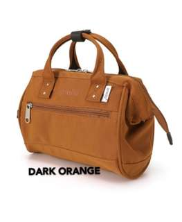 💯 [AT-H1371] ANELLO BOSTON 2-WAY MINI SLING BAG - DARK ORANGE