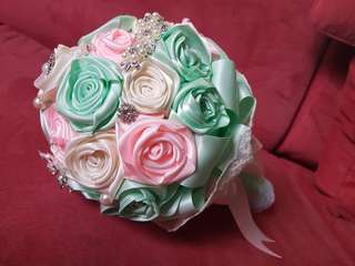 Satin Roses Bouquet