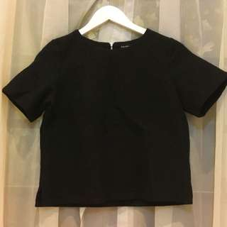 Black Blouse Flowery By The Executive