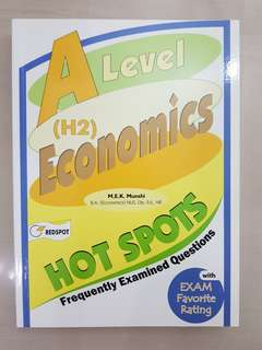 A Level H2 Economics Hot Spots (frequently examined questions)