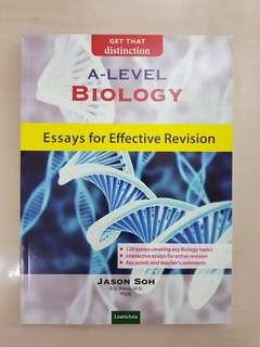 A Level Biology Essays
