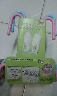 小童晒鞋架(1個包裝2對裝)