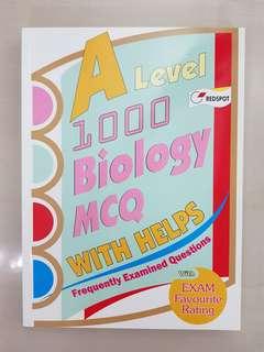 A Level Biology 1000 MCQs