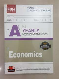 A Level H2 Economics Yearly TYS (EPH)