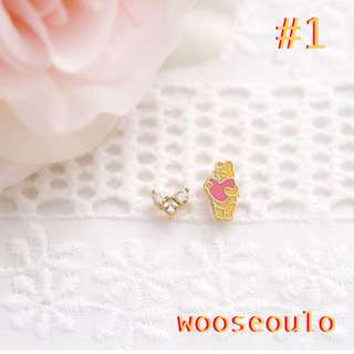 WinnieThePooh 耳環。小熊維尼