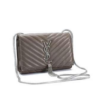 Yves Saint Laurent Sling Bag Grey Color
