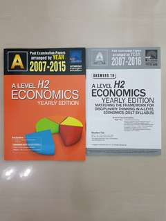 A Level H2 Economics Yearly TYS (SAP Education)