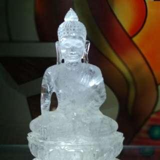 Crystal Stone Meditation Buddha