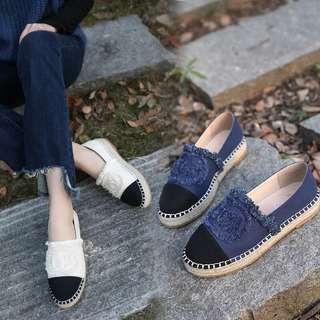 🌟好靚❤️款式又特別,Chanel同款草編流蘇厚底鞋 $189 🈵️$399包順豐 可以Payme方便快捷 10日內到你手