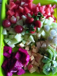 Salad buah pemuda Rawamangun