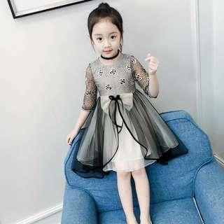 女童韓版洋氣紗裙公主裙