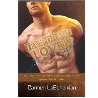 Ebook TEMPORARY LOVER - Carmen LaBohemian