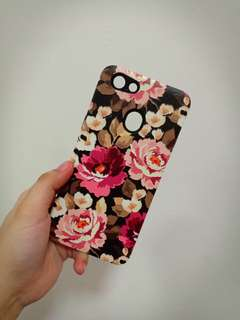 Oppo f5 case flower brandnew