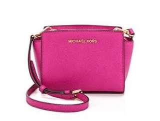 MK MICHAEL KORS SELMA SMALL SLIGHTLY USED ORIGINALLY BOUGHT AT 12,000 now only 8,000