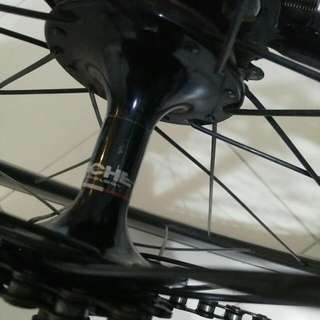 BLB Notorious N90 Rear Wheel ( track bike wheelset fixie fixed gear miche n90 blb 88mm 50mm cinelli engine 11 dosnoventa)