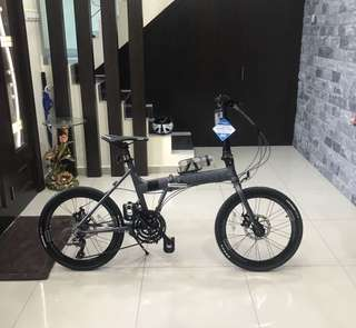 folding bike trinx