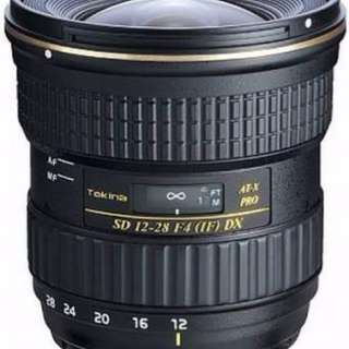 Tokina 12 - 28 mm f/4 Nikon Mount