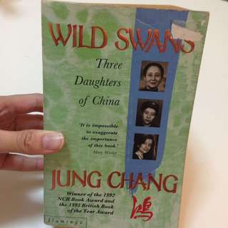 Wild Swans Jung Chang Three Daughters Of China