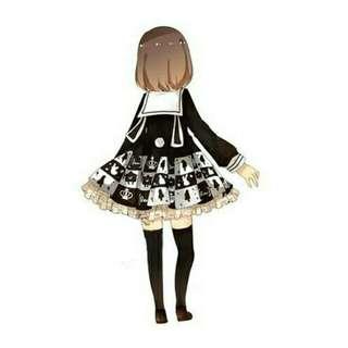 愛莉絲兔耳洋裝