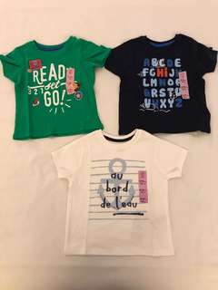 Brand New Baby Boy Short Sleeve T-Shirt 12-18 Months
