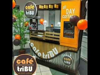 Kiosk Food Cart Cafe Tribu Coffee Shop Business