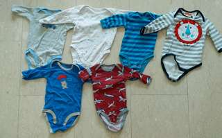 Long sleeve bodysuit 0-3m