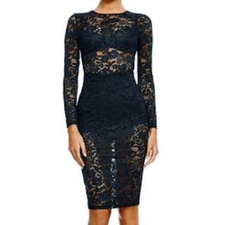 Misha Collection Camilla Lace Dress
