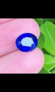 3.03ct Maymmar unheated Royal blue sapphire