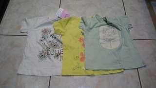 Set for 3 kids blouse
