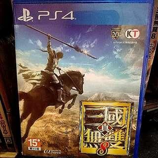PS4 真三國無雙8 中文版