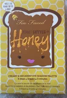 """Too faced  """"Honey"""" palette"""