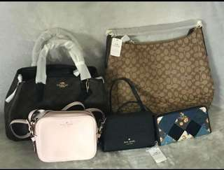 Branded Handbags and wallet