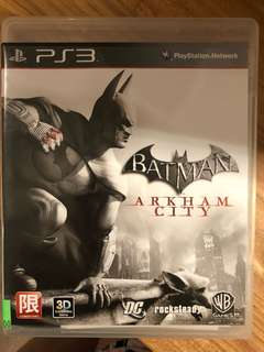PS3: Batman Arkham City