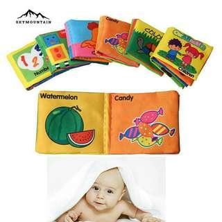 Educational cloth book