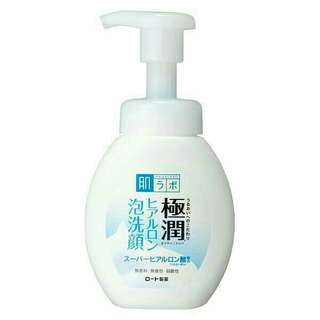 Rohto Hada Labo Gokujyun Foaming Facial Wash 160mL