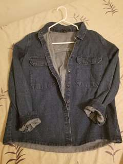 F21 Denim Shirt (small)