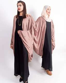 Xenia ( Abaya plus size available too)